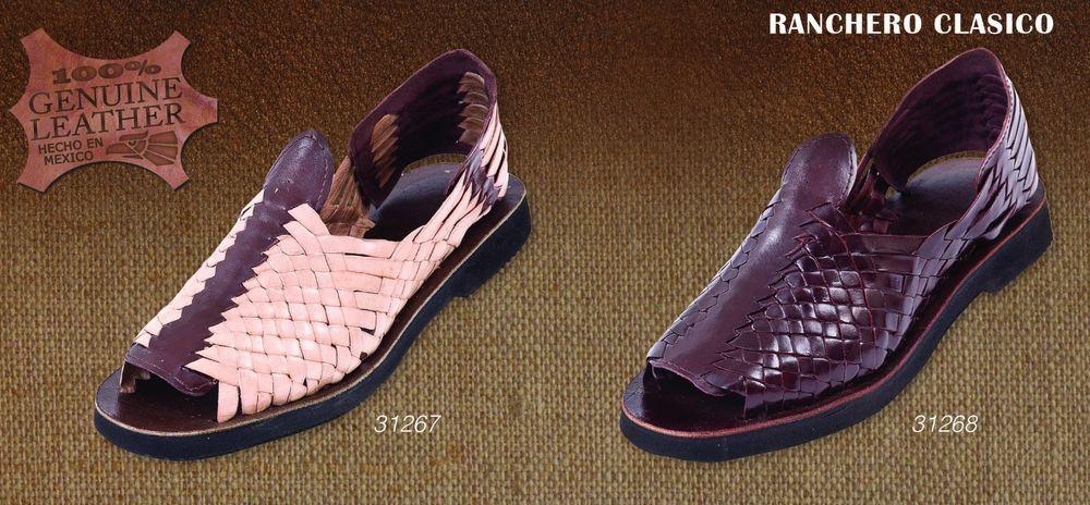 Leather Sandals Open Toe Huarache Sandals Style MEXICAN HUARACHES _31267 #Handmade #HuarachesClosedToe