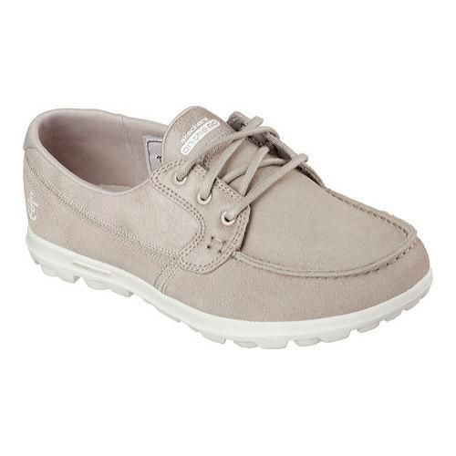 skechers women's bobs on the go boat shoes