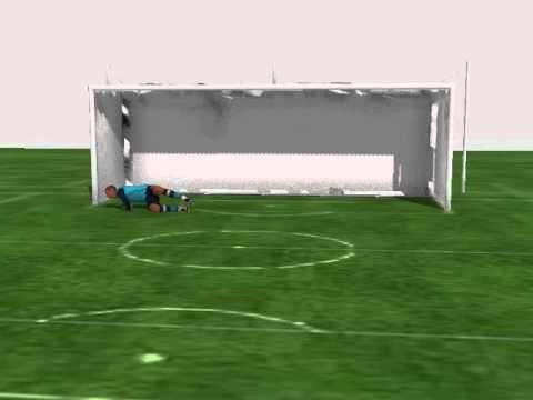 Goalkeeper Animation Penalty Save In 2020 Goalkeeper Penalty Kick Soccer Field