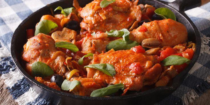 Recette Osso bucco de poulet facile | Mes recettes faciles - #bucco #de #facile #faciles #Mes #Osso #poulet #Recette #recettes #ossobuccorezept
