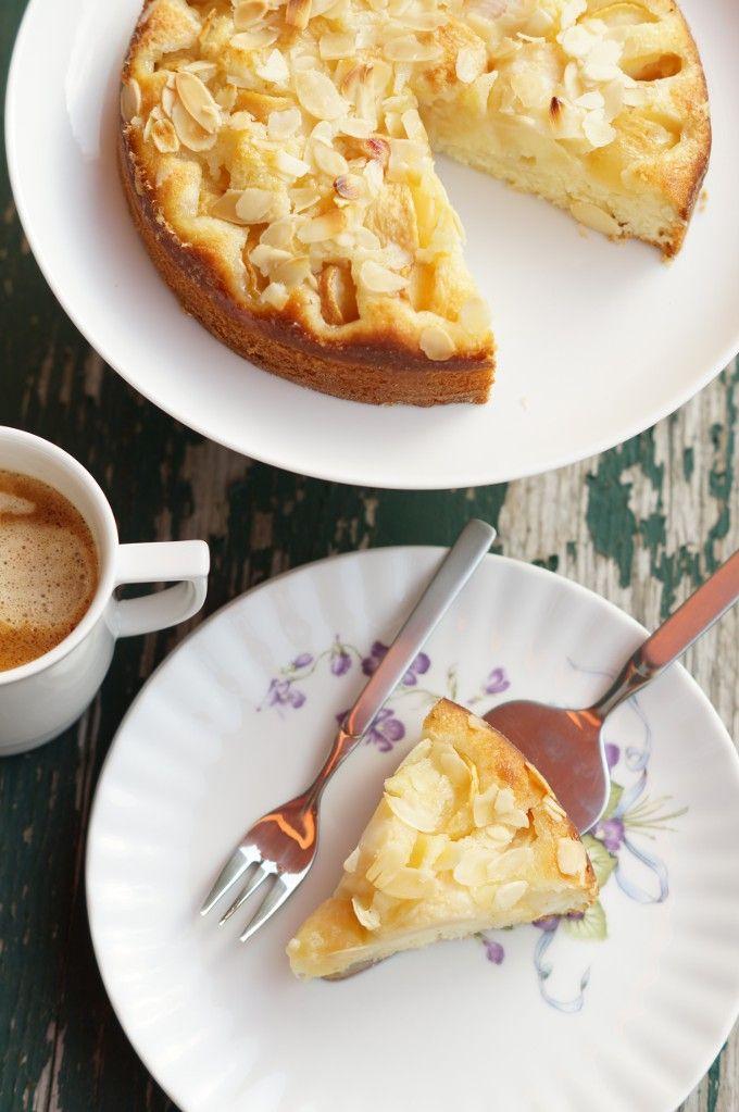 Pfirsich. Kuchen. Rührteig. | Kuchen mit pfirsich ...