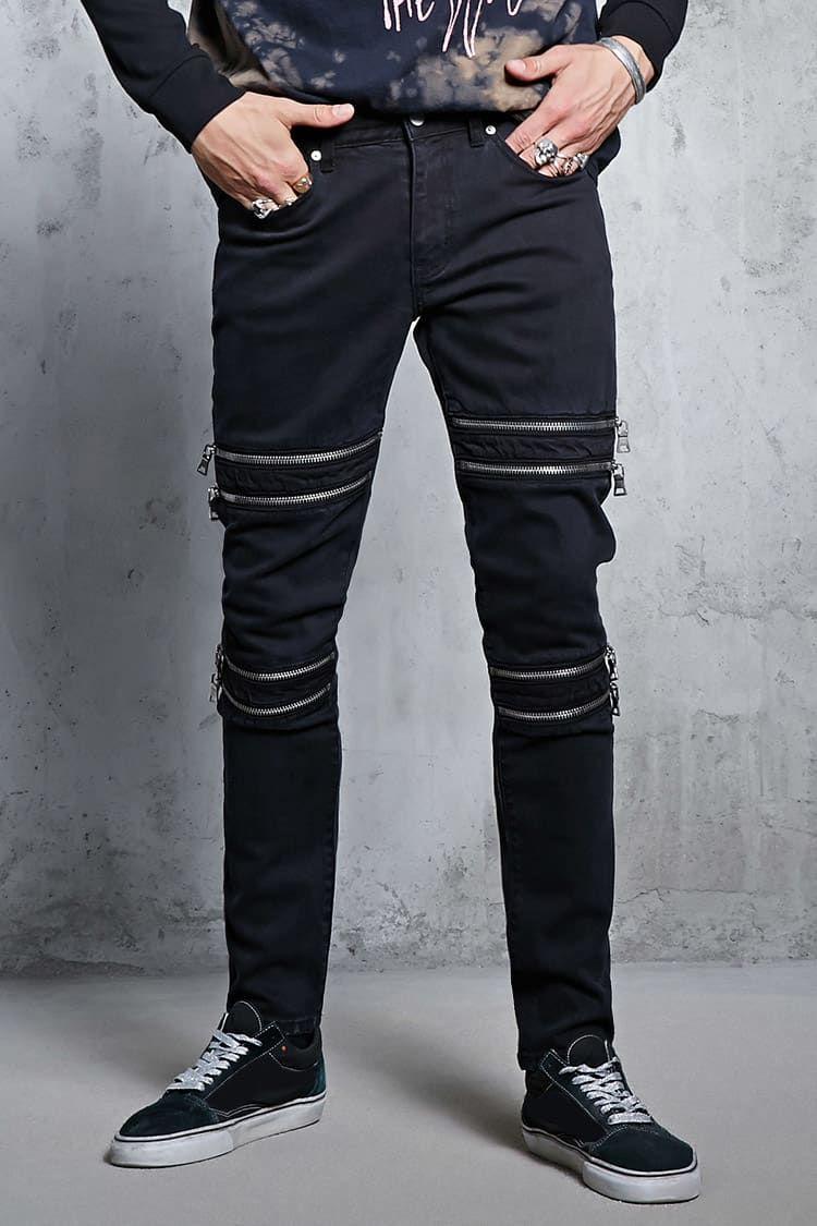 Skinny Jeans Hombre Pantalones Bermudas Jeans 2000113237 Forever 21 Eu Espanol Ultimas Tendencias Forever 21 Jeans Hombre