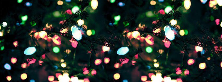 Colorful Christmas Light Facebook Cover Photo   Cover Photos ...