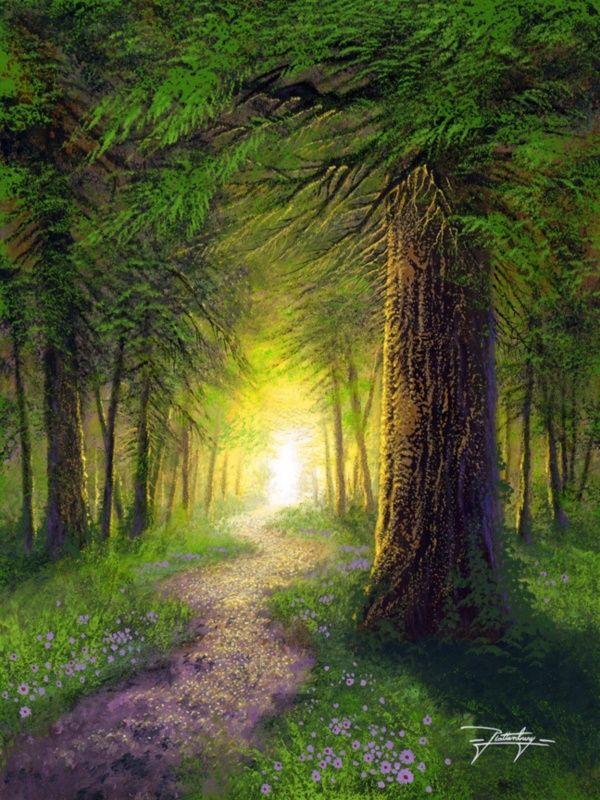 42 Easy Landscape Painting Ideas For Beginners Arte Da Paisagem Ideias Para Pintura Pinturas Da Natureza