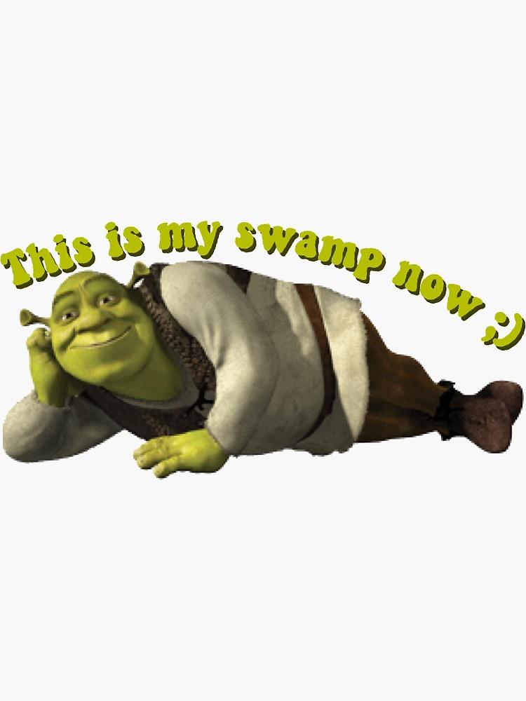 Shrek Sticker By Lia Kolor Shrek Shrek Memes Meme Faces