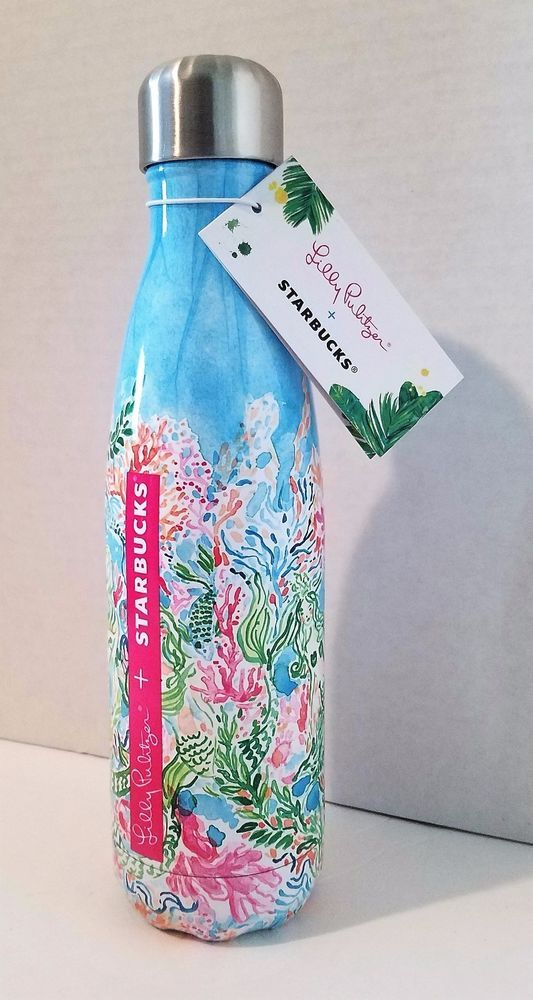 c9c71bb04e Lilly Pulitzer Starbucks Sirens Calling Swell Bottle Mermaid Drink Limited  Rare #Starbucks@lilypulitzer#starbucksswell#lilyswell#lilytarget