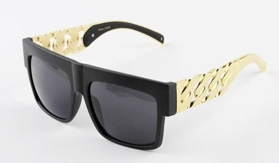 2c3aac38a59 Celine Inspired Gold Chain Cuban Link Sunglasses. Available now!!! Text me  at 848-299-4554 or email me at MsTeeBoutique1 gmail.com Thanks