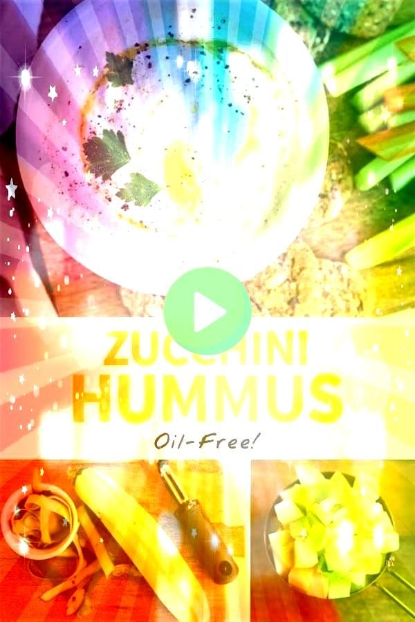 is made without beans and NO added oil so its easier to digest and tastes even better than the original Paleo  VeganThis ZUCCHINI HUMMUS is made without beans and NO adde...
