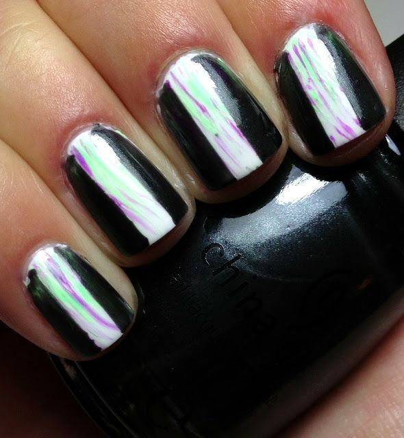 Dimonds Nails : Nails by an OPI Addict: Black Diamond! | Nail Art ...