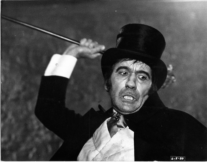 Christopher Lee as 'Mr. Hyde'