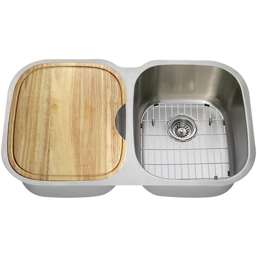16 Gauge 34 75 Double Bowl Kitchen Sink Sink Double Kitchen Sink