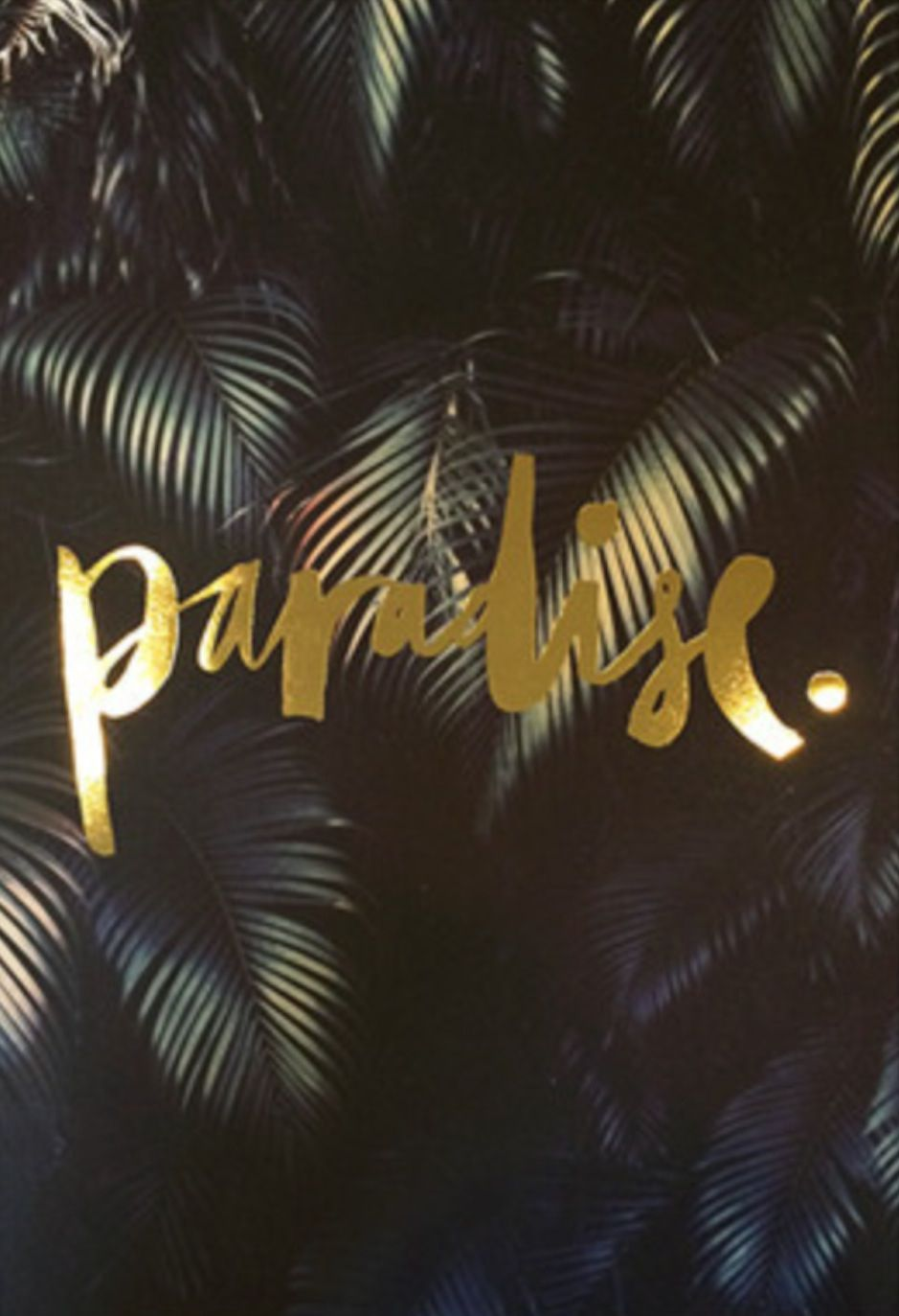 The Minimalist Store | Paradise, limited edition print