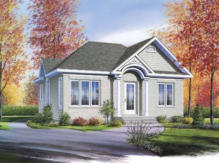 European Bungalow Cottage Style House Plans Cottage House Plans Drummond House Plans