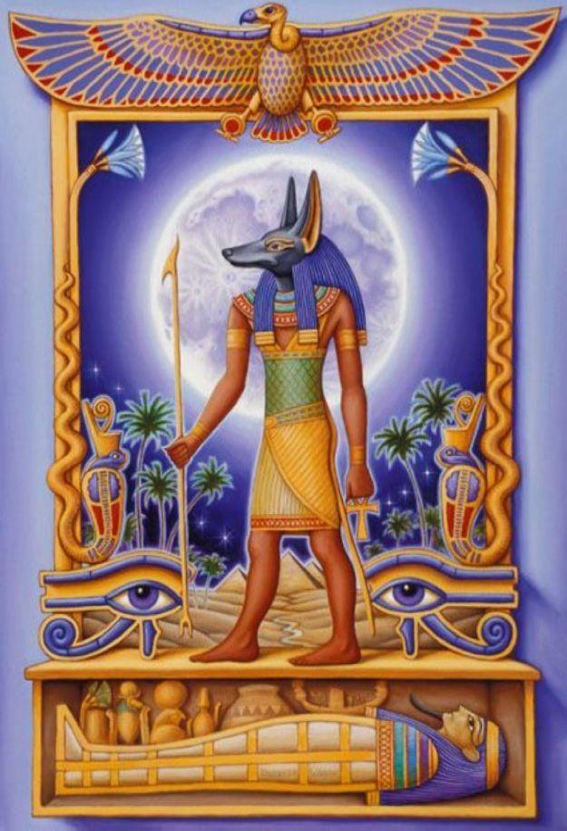 ancient egyptian legends   ANUBIS - Ancient Egyptian Mythology ...