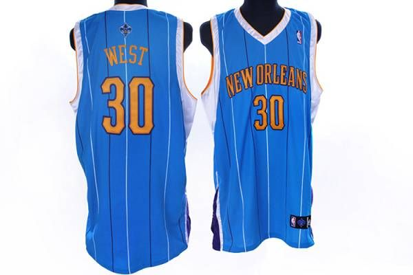 32d97881172 Hornets  30 David West Embroidered Baby Blue NBA Jersey! Only  20.50 ...