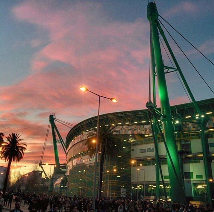 Lindo o Estádio de Alvalade XXI, do Sporting Clube de Portugal