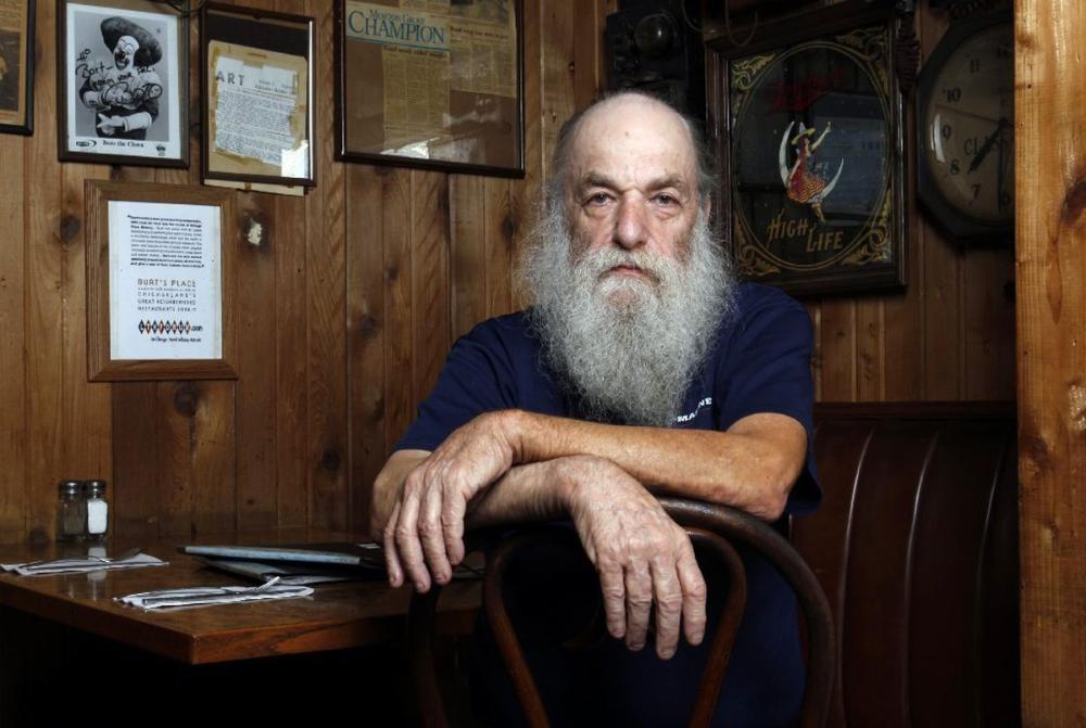 Burt Katz, legendärer Pizzabäcker und Besitzer von Burt's Place, stirbt im Alter von 78 Jahren  – Sarriette de Tarte