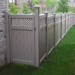 Vinyl Fence Gate Backyard Vinyl Fence Backyard Gates