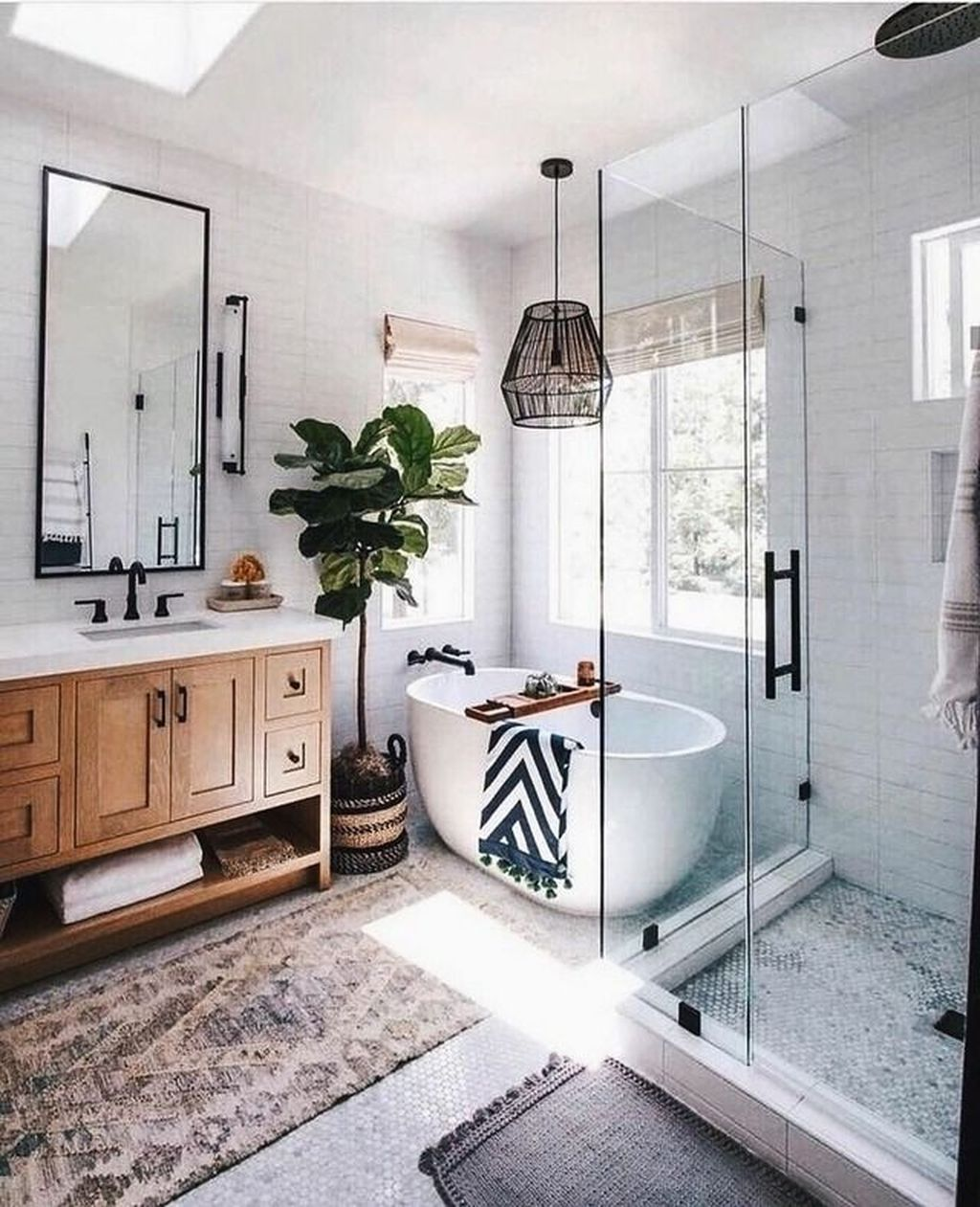 20 Stunning Boho Bathroom Design Ideas That You Must Try ...