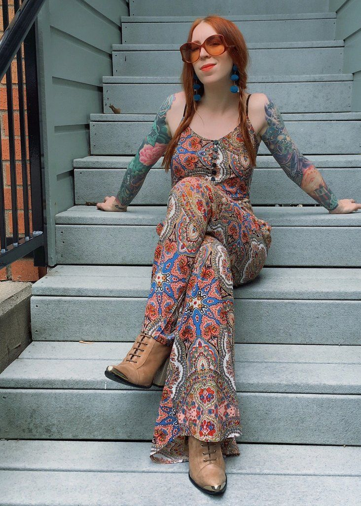 a4b0b26137 the Cleobella Satisfaction jumpsuit in rocker paisley! shopblacksalt ...