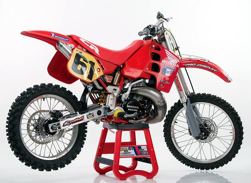 jmb honda cr 500 1989 motos oficiales mx pinterest. Black Bedroom Furniture Sets. Home Design Ideas