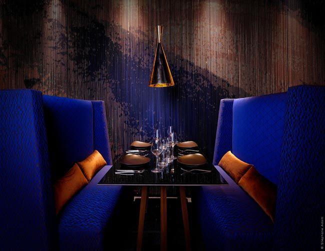 Nouvel Hotel Restaurant Le 1k A Paris Design Interieur Restaurant Architecture Interieure Photographe Architecture