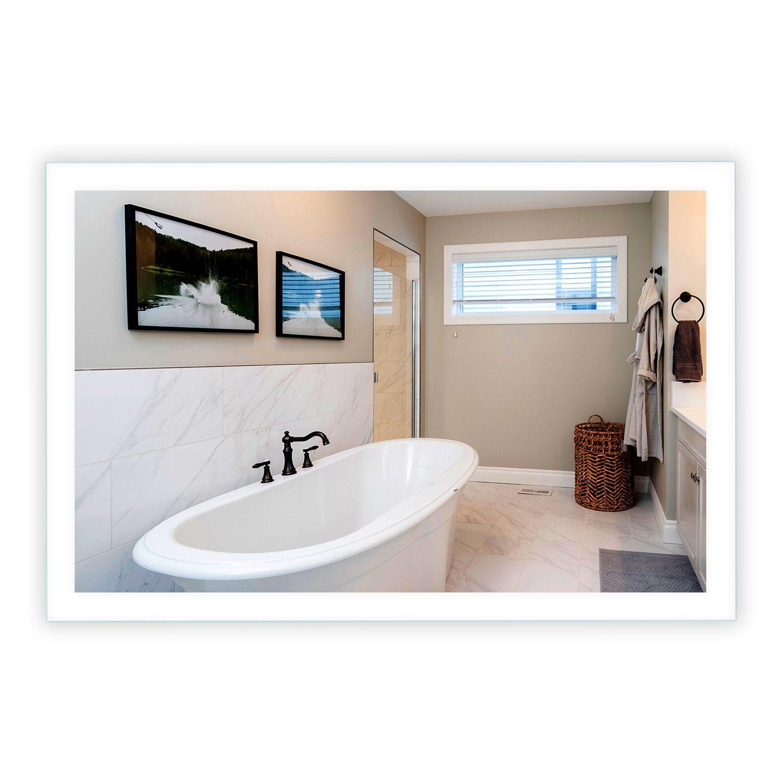 SideLighted LED Bathroom Vanity Mirror 48 in 2020