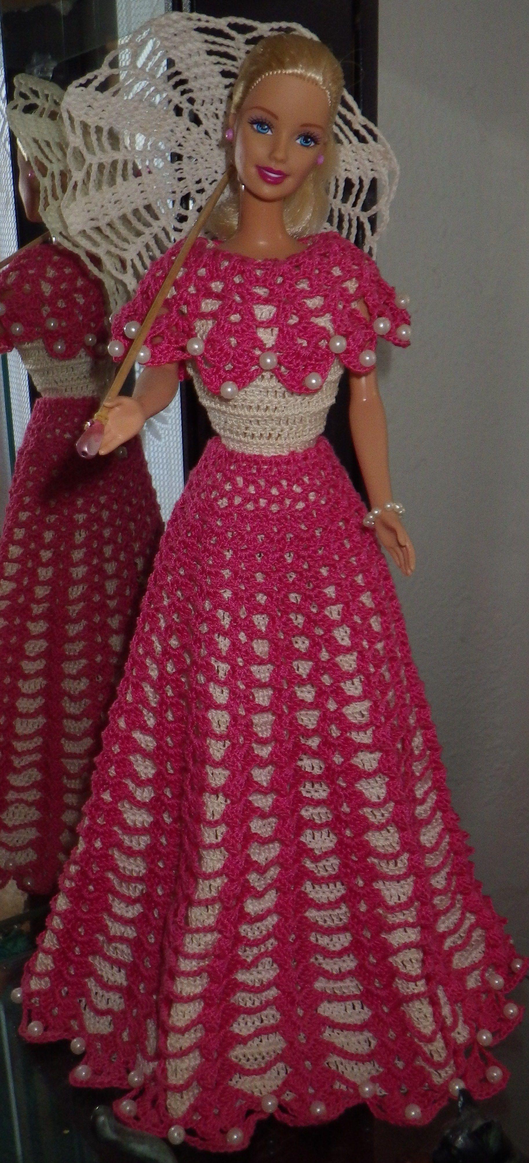 46.12.23.3 / #barbiegownscrochet   Barbie/Doll Crochet/Knits! 3 ...