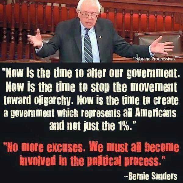 #FeelTheBern #notforsale #Bernie2016 #StandWithBernie #stormiscoming