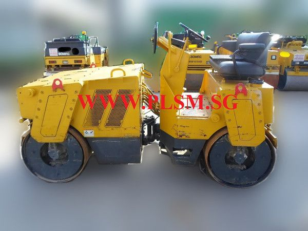 A02. 4.0 TONS SAKAI SW502S-1 TANDEM ROAD ROLLER FOR RENTAL IN SINGAPOR | PLS MACHINERY PTE LTD