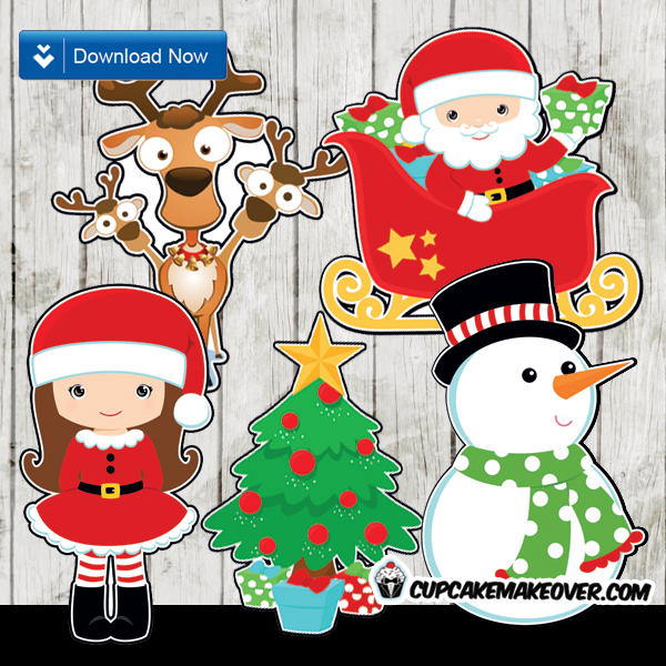 Complete Your Christmas Decorations With These Supercute Characters Skys The Limit On How