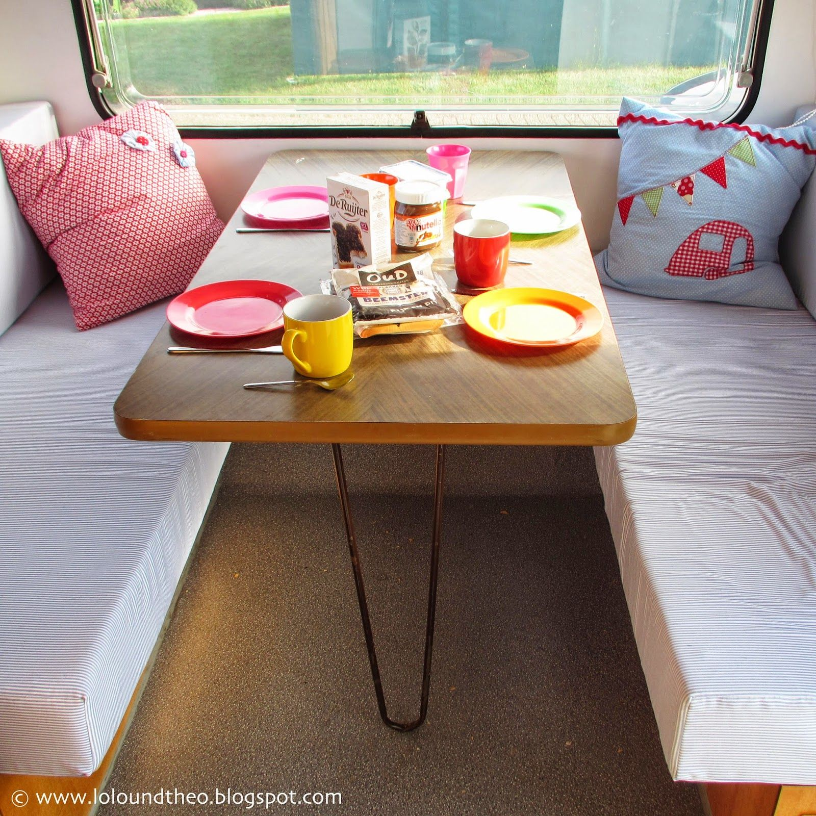 wohnwagen knaus passat 1978 umbau renovierung makeover voher nachher before after www. Black Bedroom Furniture Sets. Home Design Ideas