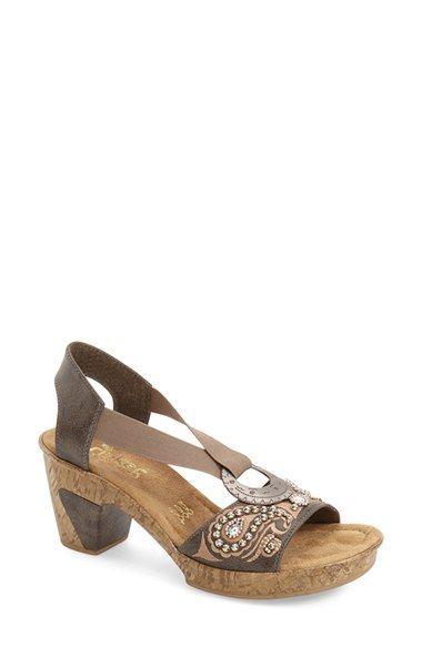 Women's Sandals Birkenstock, Rieker