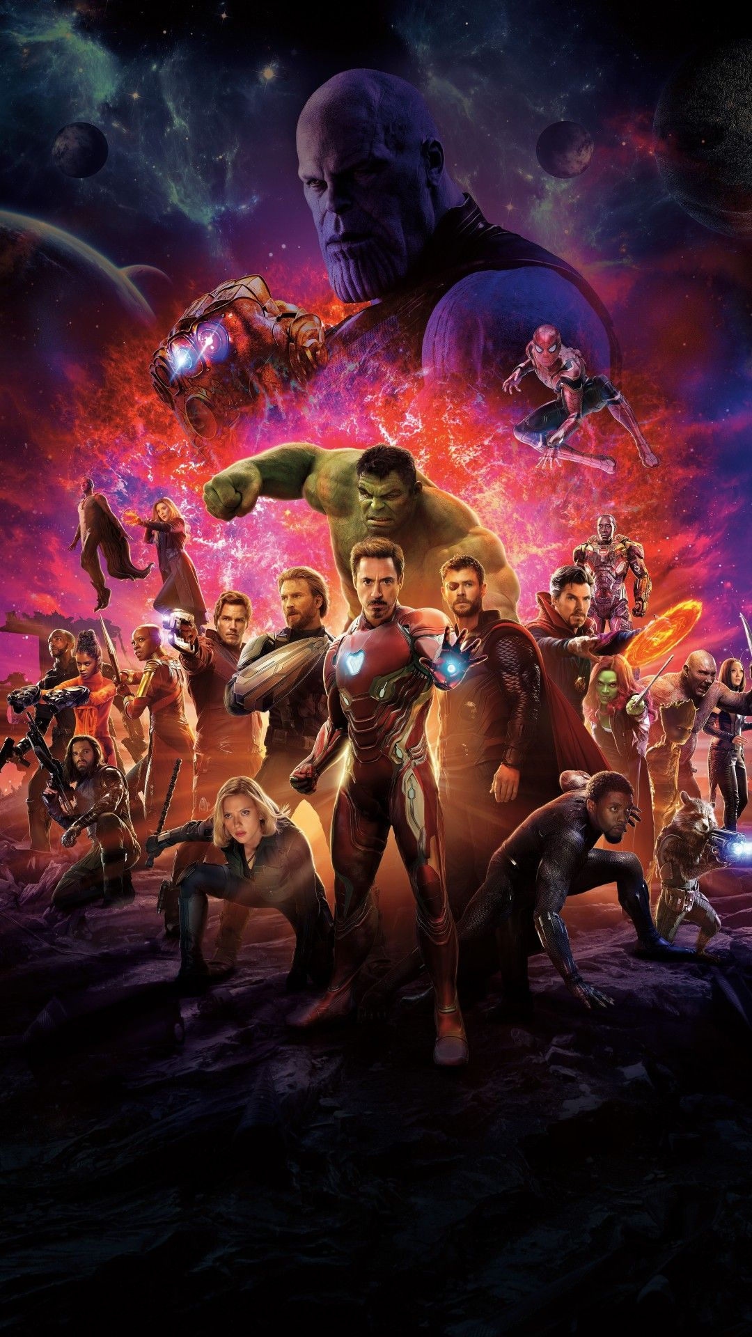 Marvel Infinity War Wallpaper High Quality Resolution Hupages