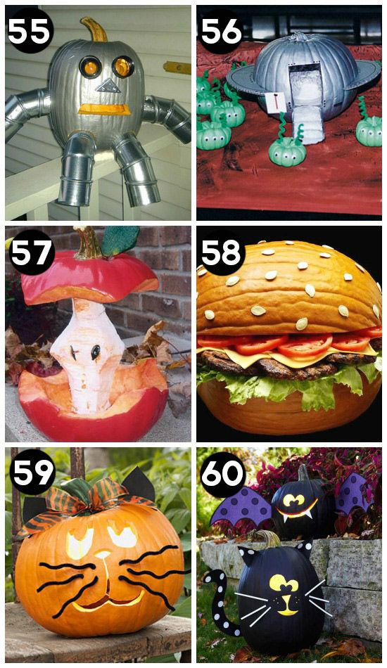 150 Pumpkin Decorating Ideas - Fun Pumpkin Designs for Halloween - funny halloween decorating ideas