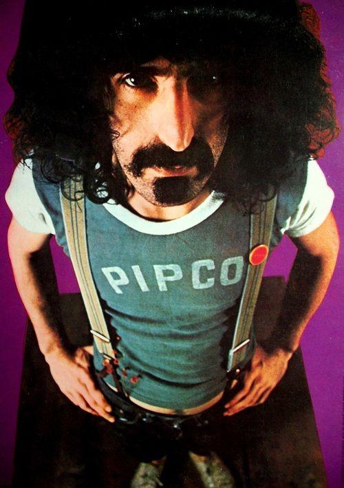 Frank Zappa. Pipco shill.