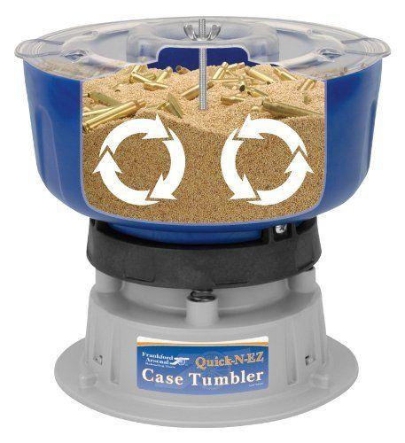 Brass Case Cleaning Tumbler Kit Polish Shell Bullet Reloading Hunting Equipment