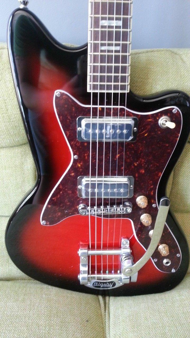 Silvertone 1478 Silhouette Electric Guitar Vintage Classic ...