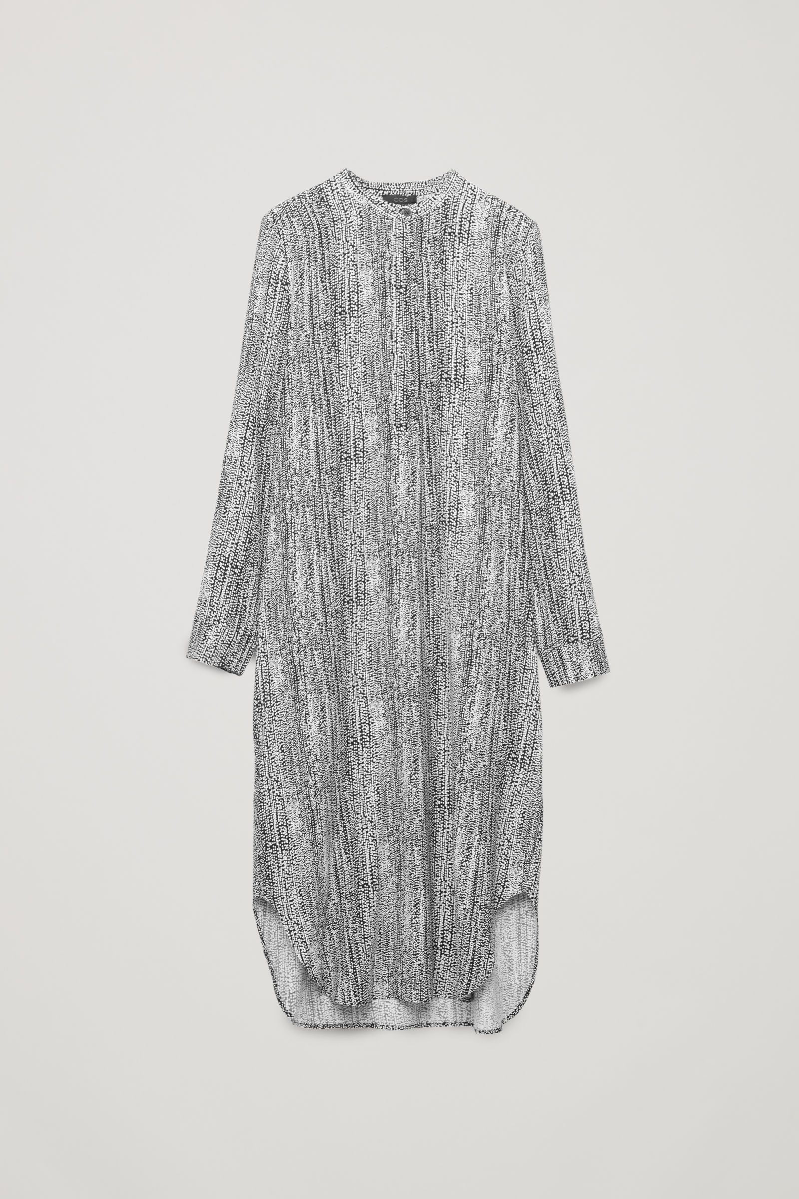 H&M Conscious Collection Patterned Silk Dress — Product