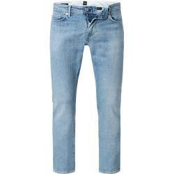 Boss Jeans-Hose Herren, Baumwoll-Stretch, blau Hugo Boss