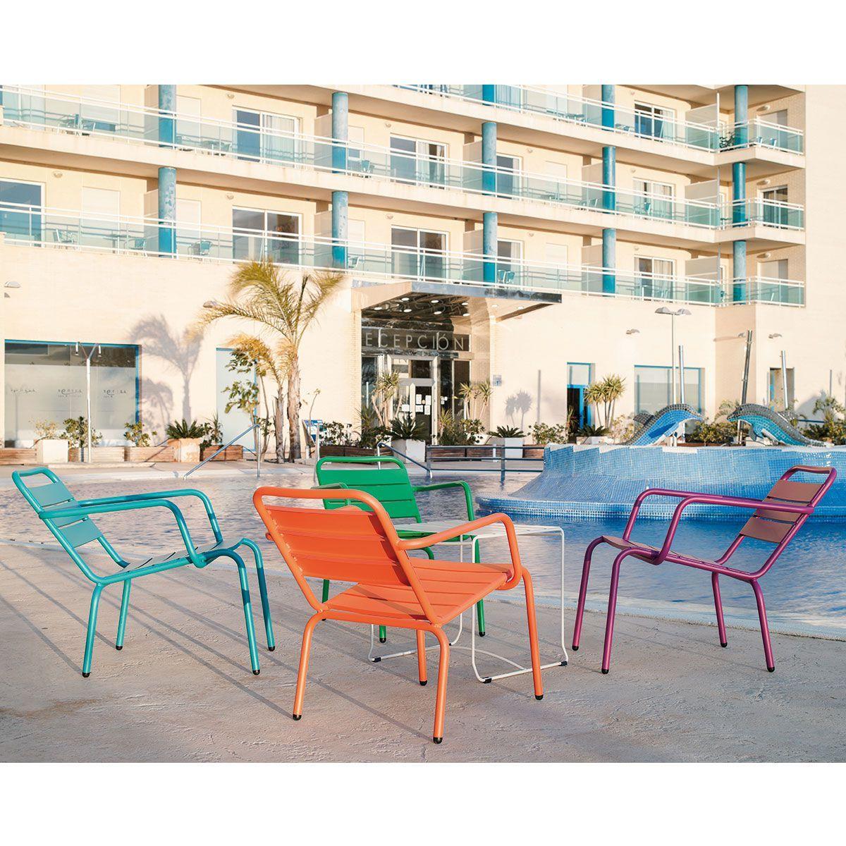 Fauteuil de jardin lounge Barceloneta ISIMAR | ISI | Mobilier de ...