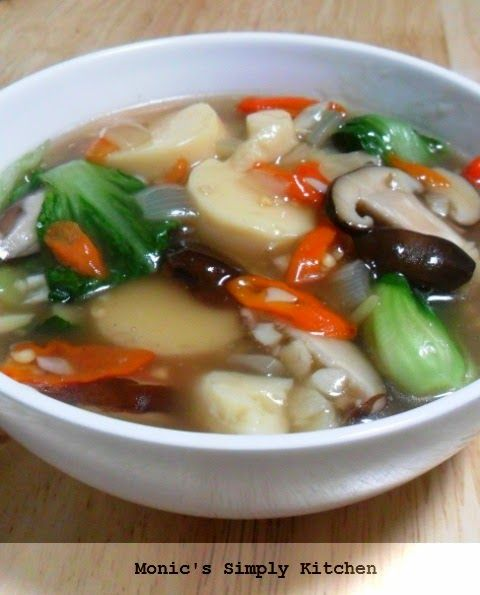 Resep Sapo Tahu Jamur Pedas Makanan Dan Minuman Resep Resep Masakan