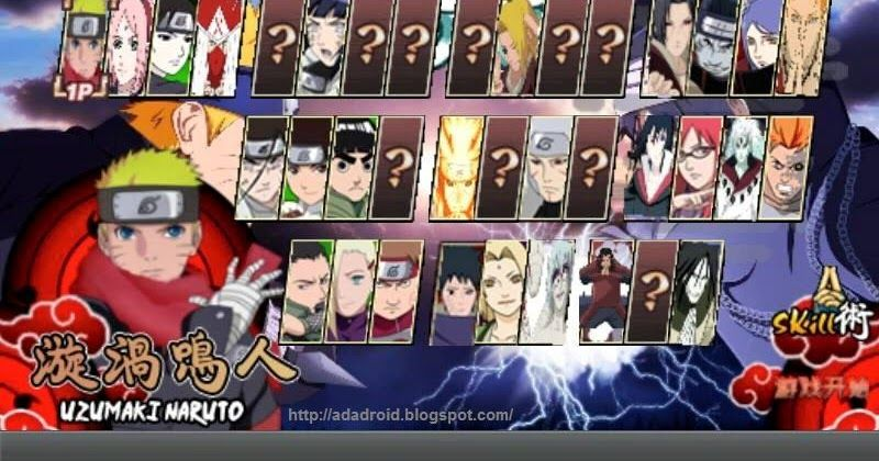 download naruto senki full character android 1