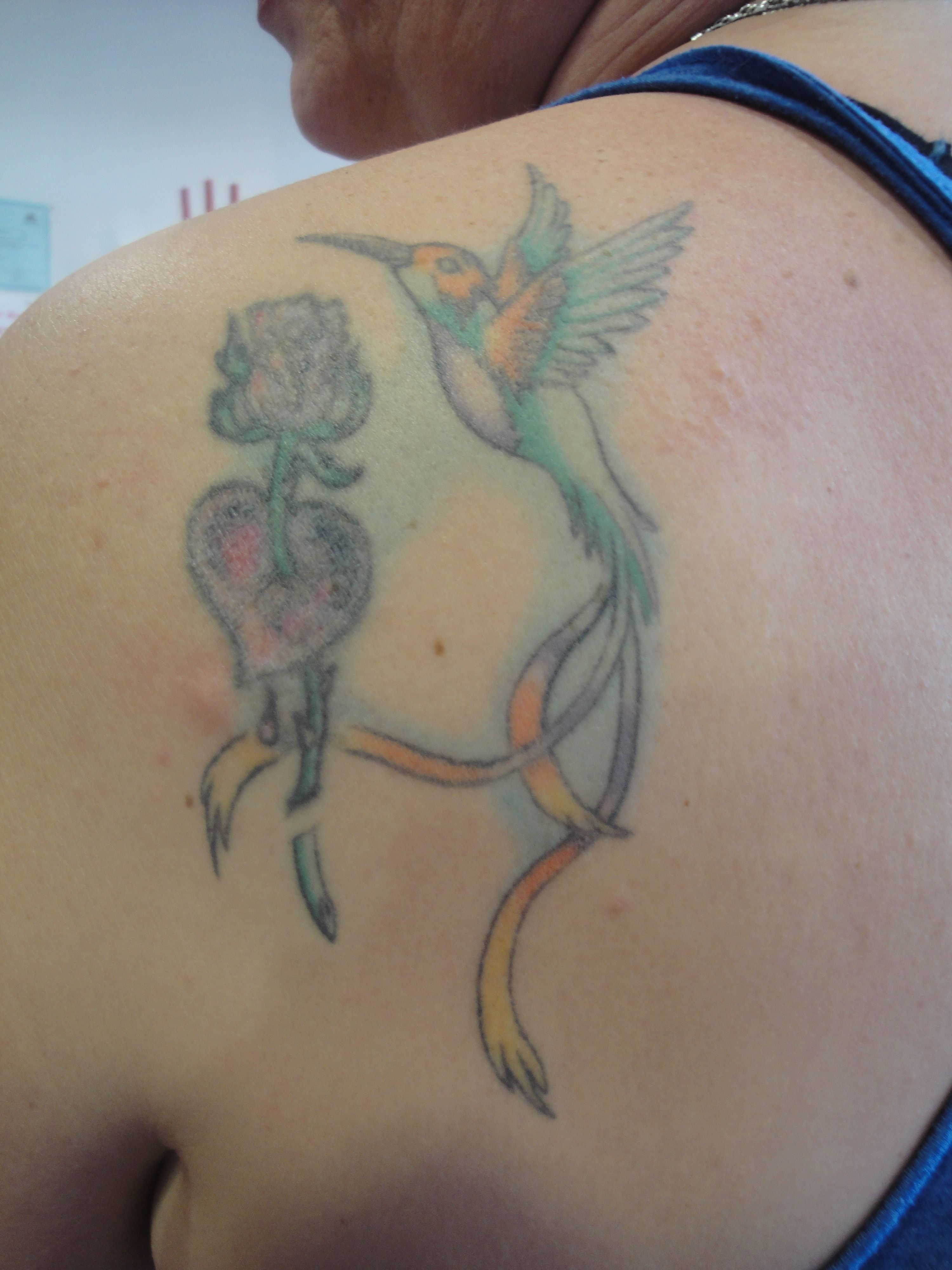 Tatouage A Recouvrir Recouvrement D Un Vieux Tatouage Couleur
