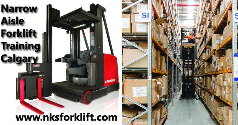 NKS Forklift provides Narrow aisle forklift training in