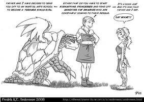 Dear Daughter (2008) by DerangedMeowMeow   Dragon comic ...