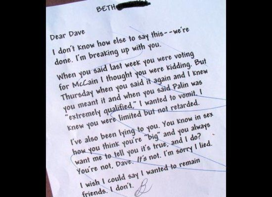 This Breakup Letter Will Make You Glad YouRe Single  Humor