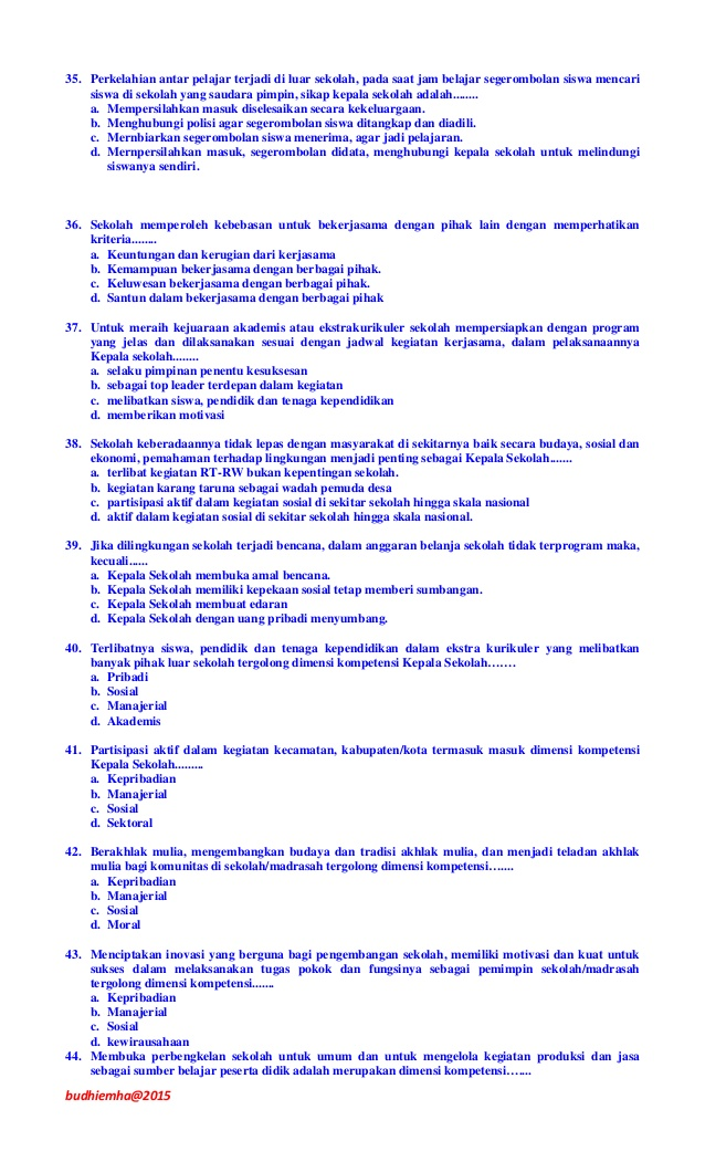 Tes Kompetensi Manajerial Polri : kompetensi, manajerial, polri, Contoh, Kompetensi, Manajerial, Polri, Terbaru, Belajar,, Kepala, Sekolah,, Pimpinan