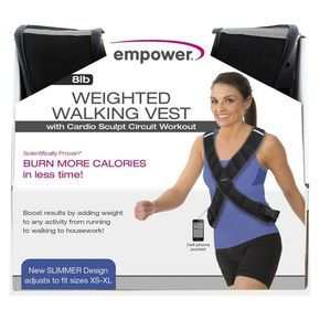 weight vest empower  lose 20 pounds lose 15 pounds lose