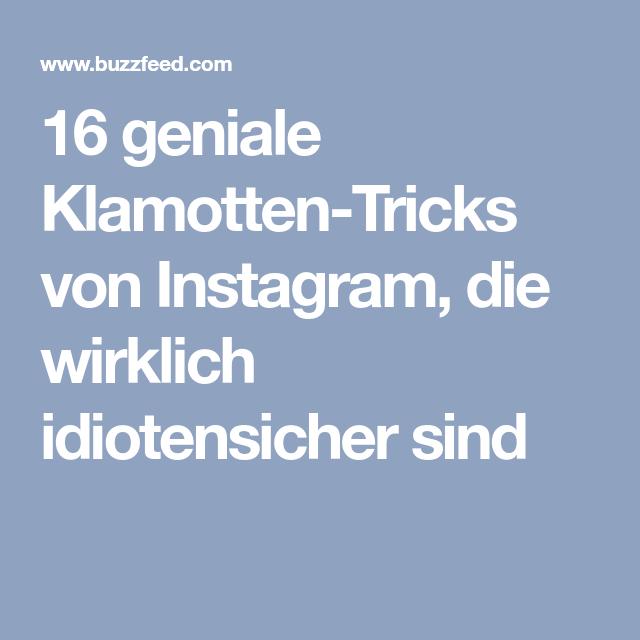 16 geniale klamotten tricks von instagram die wirklich. Black Bedroom Furniture Sets. Home Design Ideas